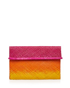 mar Y sol - Ariel Medium Raffia Clutch