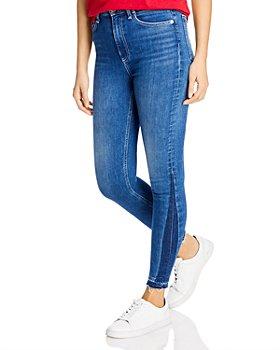rag & bone - Nina Released-Hem Skinny Ankle Jeans in Valencia