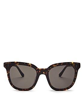 Illesteva - Women's Camille Star Cat Eye Sunglasses, 64mm