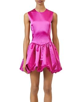 Maje - Rolling Bubble-Skirt Dress