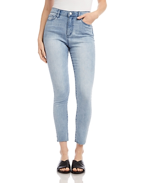 Karen Kane Skinny Jeans in Light Blue