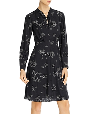 Tailored Rebecca Taylor Floral Print Dress-Women