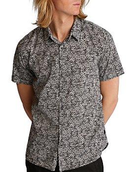 John Varvatos Star USA - Jasper Abstract-Print Regular Fit Button-Down Shirt