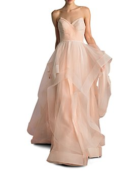 Basix - Strapless Ball Gown