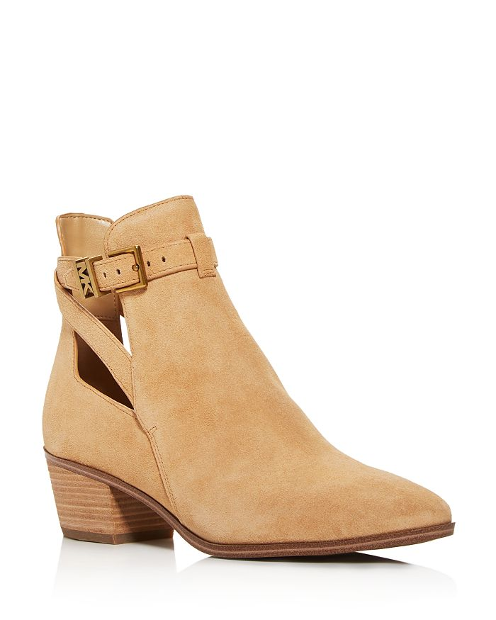 MICHAEL Michael Kors - Women's Wilkes Cutout Low-Heel Booties