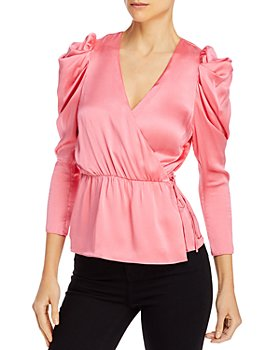 Notes du Nord - Oleana Peplum Wrap Blouse