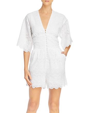 Notes du Nord - Omia Cotton Eyelet Romper