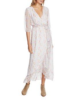 1.STATE - Woodland Gardens Wrap Dress
