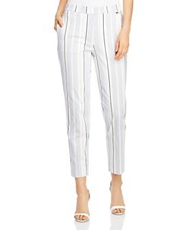 T Tahari - Striped Pull-On Pants