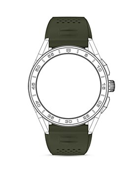 TAG Heuer - Connected Smartwatch Green Strap