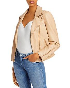 BLANKNYC - Faux-Leather Moto Jacket
