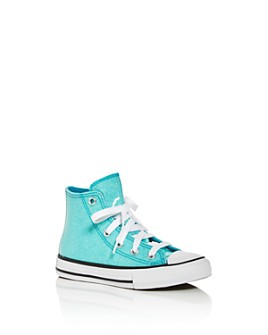 Converse - Girls' Chuck Taylor All Star Glitter High-Top Sneakers - Toddler, Little Kid