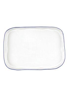 VIETRI - Aurora Edge Rectangular Platter