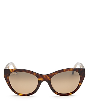 Maui Jim Women's Capri Polarized Cat Eye Sunglasses, 51mm