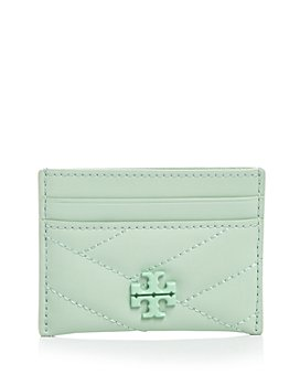 Tory Burch - Kira Chevron Matte Leather Card Case