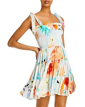 Charo Ruiz Ibiza - Leah Smocked Tiered Dress