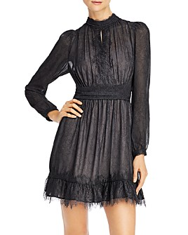 FRENCH CONNECTION - Dayo Lace Keyhole Dress