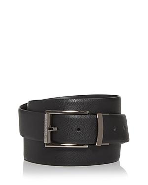 Armani Men\\\'s Reversible Leather Belt