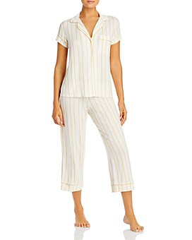 Eberjey - Summer Stripes Short-Sleeve PJ Set- 100% Exclusive