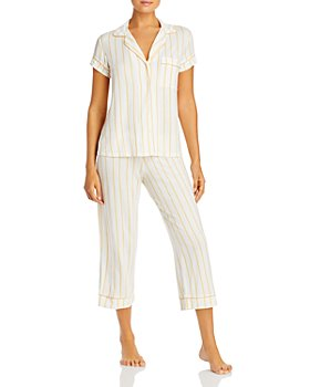 Eberjey - Summer Stripes Short-Sleeve PJ Set- 100% Exclusive