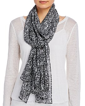 Eileen Fisher - Printed Silk Scarf