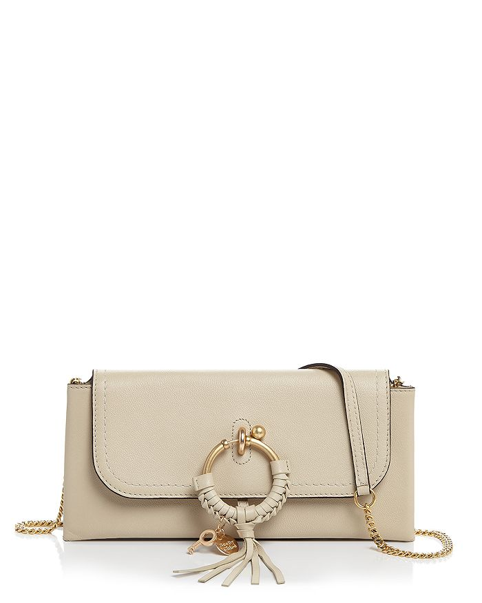 See by Chloé - Joan Leather Convertible Clutch