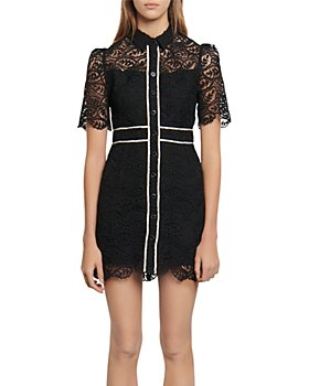 Sandro - Livy Lace Mini Dress