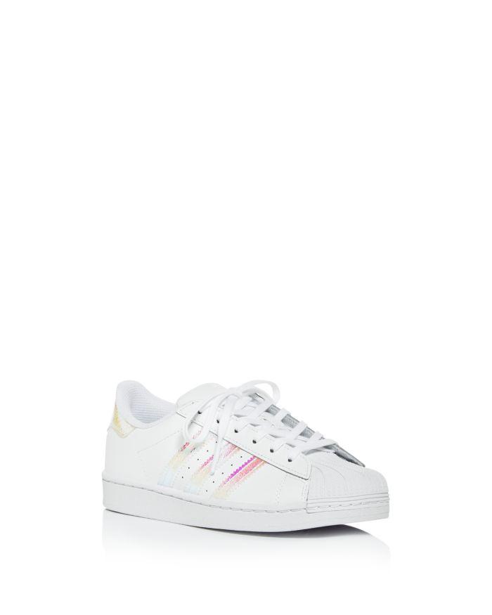Adidas Girls' Iridescent Superstar Slip-On Sneakers - Walker, Toddler, Little Kid, Big Kid  | Bloomingdale's