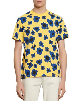 Sandro - Slim-Fit Poppies T-Shirt