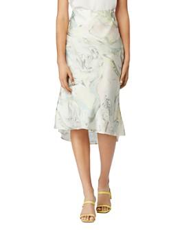 Habitual - Azza Bias-Cut Midi Skirt