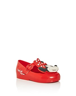 Mini Melissa - Girls' Sweet II x Disney Mary-Jane Flats - Walker, Toddler