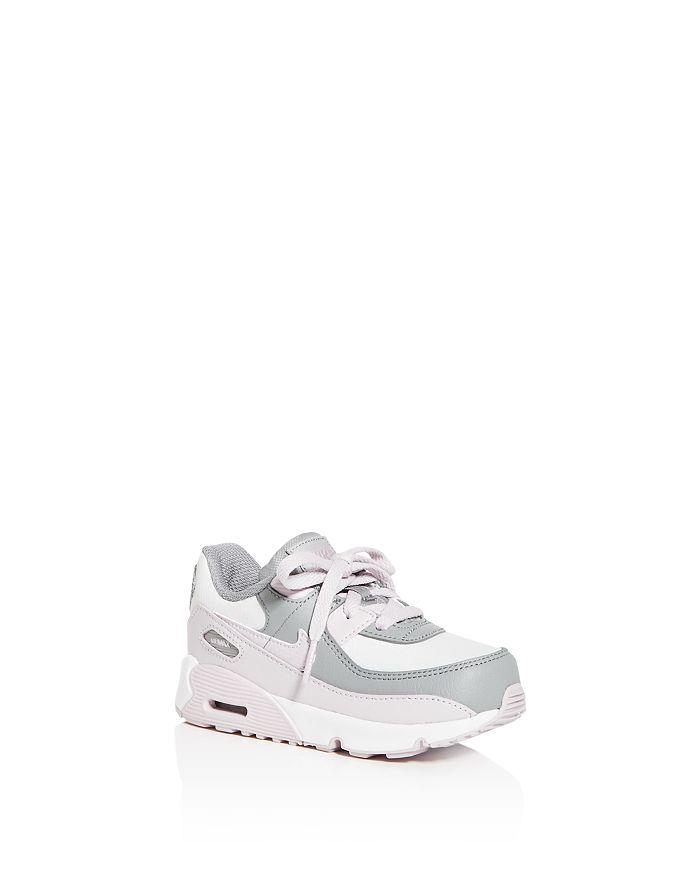 Nike - Unisex Air Max 90 Leather Low-Top Sneakers - Walker, Toddler