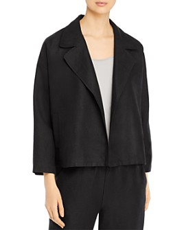 Eileen Fisher Petites - Boxy Fit Jacket
