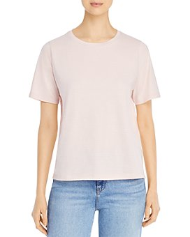 Eileen Fisher - Striped Crewneck Tee