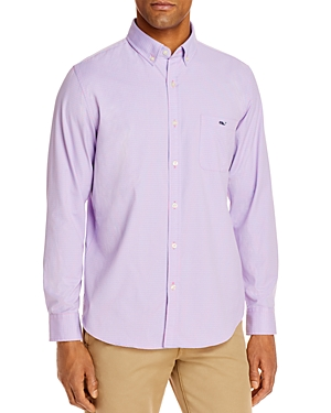 Vineyard Vines Lemon Check Slim Fit Button-Down Shirt-Men