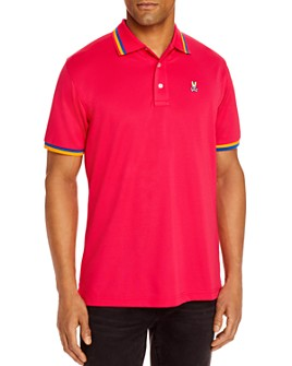 Psycho Bunny - Formby Sports Tipped Logo Classic Fit Polo Shirt