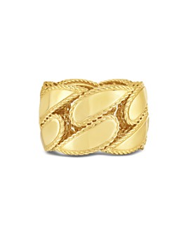 Roberto Coin - 18K Yellow Gold Gourmette Band