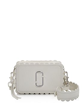 MARC JACOBS - Softshot Scallop Leather Crossbody