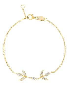 Roberto Coin - 18K Yellow Gold Disney Frozen 2 Diamond Chain Bracelet