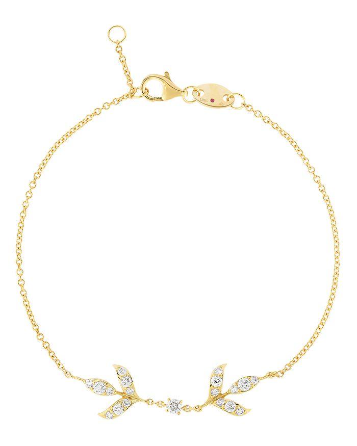 Roberto Coin - 18K Yellow Gold Disney Frozen 2 Diamond Chain Bracelet