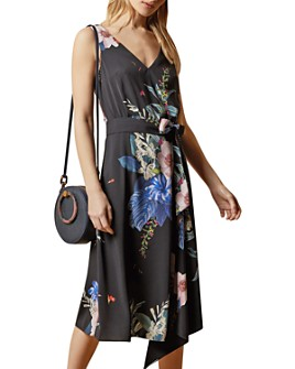 Ted Baker - Trinni Belted Asymmetric Dress