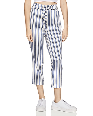 BCBGeneration Striped Belted Pants-Women