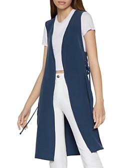 BCBGeneration - Lace-Up Tunic Vest