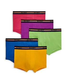 2(X)IST - Pride Cotton No-Show Trunks, Pack of 5