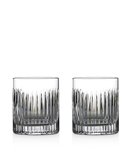 Waterford - Aras Double Old-Fashioned Glasses, Set of 2