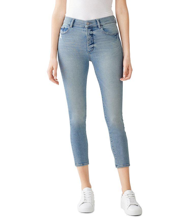 DL1961 - Farrow Cropped Skinny Jeans in Sterling