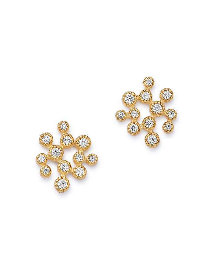 Bloomingdale's - Scatter Diamond Stud Earrings in 14K Yellow Gold, 0.30 ct. t.w. - 100% Exclusive