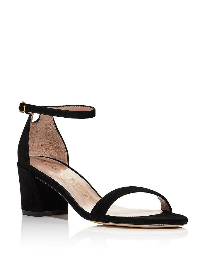 Stuart Weitzman - Women's Simple Block Heel Sandals