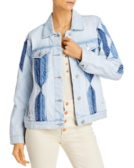 BLANKNYC - Multi-Colored Jean Jacket
