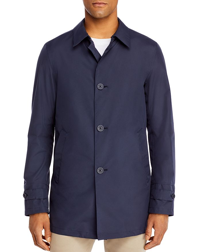 Herno - Classic Fit Raincoat with Packable Bucket Hat
